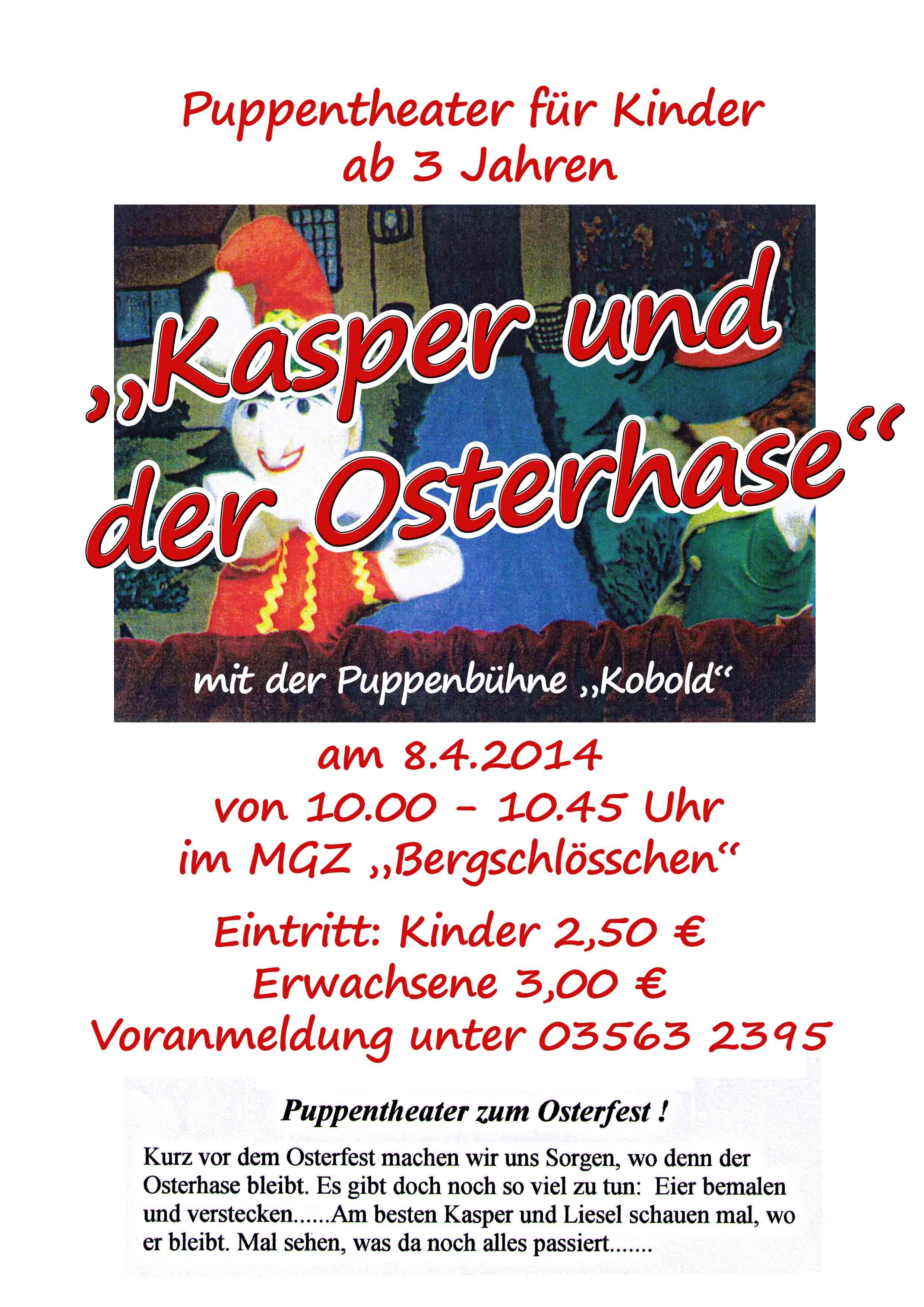 Puppentheater-Ostern_Aushang