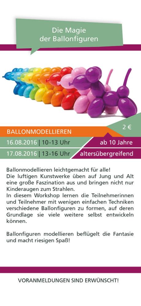 Ballonfiguren-Kurs